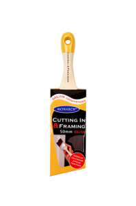 Monarch Short Handled Cutting in and Framing Brush