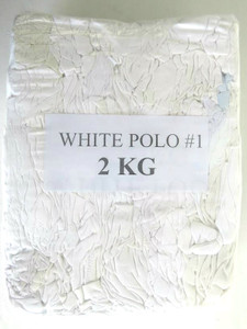 White Painters Rags 2 kg