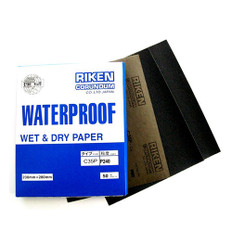 Riken Wet & Dry Sanding Sheets, 50 packs (60 - 2000gt)