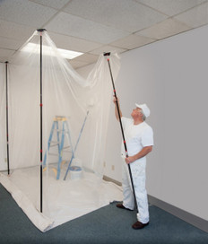 Zipwall Starter Kit - Protecting Your Work Area From Dust