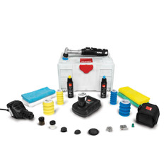 RUPES Big Foot Nano with iBrid Long Neck Dual Action Polisher Deluxe Kit