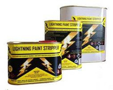 500ml, 1L & 4L Lightning Paint Stripper