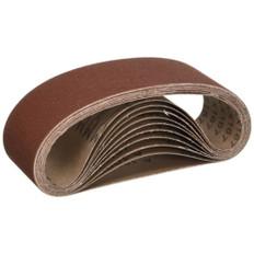 65mm x 410mm GXK51 Portable Sanding Belts, 10 Packs