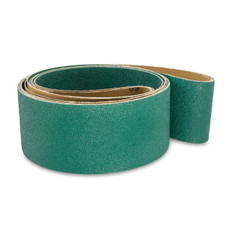 100mm x 2745mm Zirconia Linishing and Sanding Belts, 5 packs