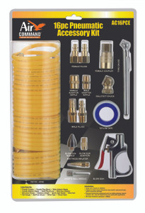 Air Command 16 Piece Pneumatic Accessory Kit - ARO Coupling