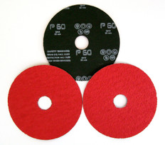 Ceramic Grain European Fibre Discs 115 x 22mm