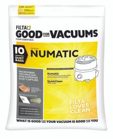 Filta Numatic Microfibre Vacuum Bags 20-30 Litres
