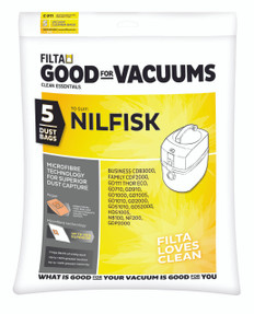 Nilfisk GD Vacuum Bag , 5 Pack