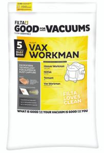 Vax Workman Microfibre Vacuum Bags , 5 Pack