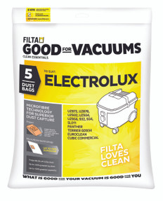 Electrolux Square Bin Shaped Series Vacuum Bags