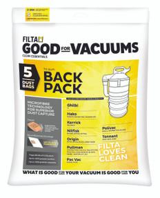 Backpack Vacuum Bags, 5 Pack