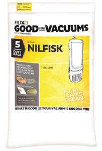 Nilfisk GD5 Vacuum Bags, 5 Pack