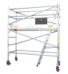 Titan Single Width Mobile Tower Scaffolding  - 4.0m Working Height
