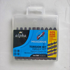 Alpha Maxdrive Screwdriver Bits