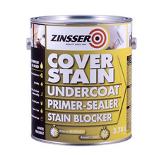 Zinsser Cover Stain - 4 x  3.75L Tins