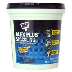 Alex Plus® Spackling 16 Oz, 473ml Tub