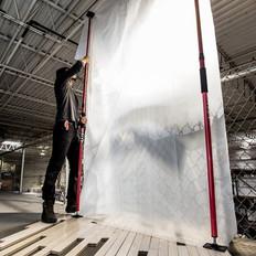 Dust Shield PRO Temporary Wall Heavy Duty Kit
