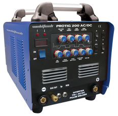 Weldtech 200A AC/DC Pulse Welder - MMA Inverter Welder