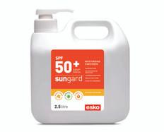 2.5lt Pump Bottle, SunGard SPF 50+ Sunscreen with Manuka Honey, Aloe Vera & Vitamin E