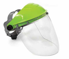 TUFF-SHIELD Browguard and Visor, Clear lens