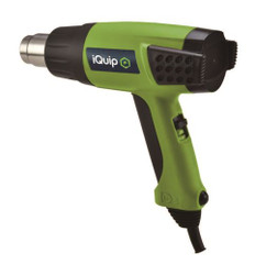 IQuip Dual Heat 1800W Heat Gun - 380°C and 580°C