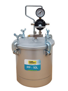 Top Finish 10 Litre Galvanized Steel Pressure Pot
