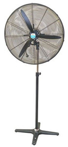 750mm Industrial Pedestal Mounted Oscillating Circulation Fan