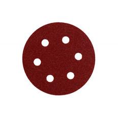 80mm Mini Sanding Discs - 6 Hole, 25 Packs