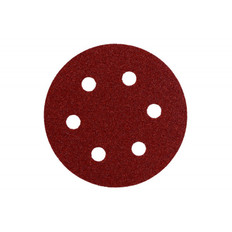 80mm Mini Sanding Discs - 6 Hole, 25 Packs
