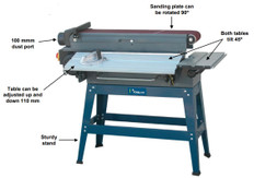 Tooline Edge Belt Sander - Horizontal and Vertical Sanding
