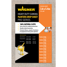 2XL - Wagner Heavy Duty Canvas Painters Drop Sheets