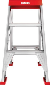 Intex Double Sided 3 Step Ladder, 170kg Work Load