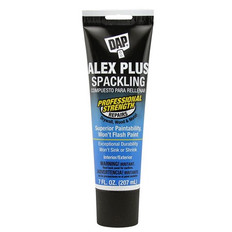 DAP Alex Plus Spackling, Interior And Exterior Filler, 207ml