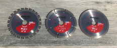 Starcraft 115mm Multi Pack Diamond and TCT Blades