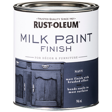 Milk Paint Finish Navy