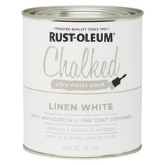 Rust-Oleum Chalked Ultra Matt Paint Linen White