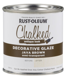 Rust-Oleum Chalked Decorative Glaze Java
