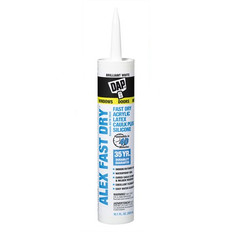 Dap Alex Fast Dry Acrylic Latex Caulk Plus Silicone 300ml