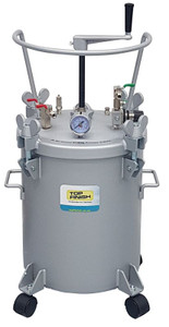 Top Finish Paint Pressure Pot 20 Litre with Manual Agitation