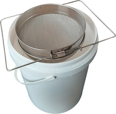 Stainless Steel Paint Strainer with Adjustable Handles