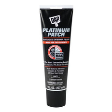 DAP Platinum Patch Advanced Exterior Filler 207ml Tube