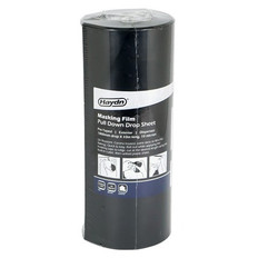 Haydn Pre-Taped Exterior Masking Film With Dispenser 1800mm x 33m