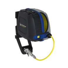 Michelin Wall Mounted Air Compressor with Hose Reel
