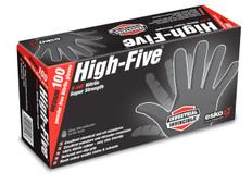 Black Nitrile Heavy Duty Powder Free Disposable Gloves 100 p/box