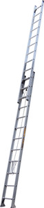 King Aluminium 3.8 - 6.7M (22ft) Extension Ladder 135kg Industrial Rating