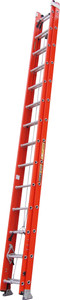 King Fibreglass 4.4 - 7.9M (26ft) Extension Ladder 135kg Industrial Rating