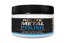 Rolite Metal Polish 4.5 oz Jar