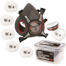 Maximask 2000 Twin Filter Respirator Painters Kit