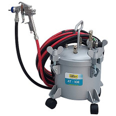 10 litre Industrial Pressure Pot Including 5m Hose Set And Industrial Spray Gun
