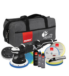 RUPES BigFoot Mille LK 900E Gear Driven Dual Action Polisher Deluxe Kit
